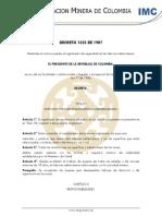 Documento Complementaio Decreto 1335 de 1987[1]