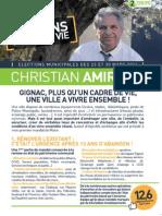 Christian Amiraty Tract Cadre de Vie