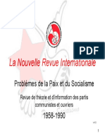 La Nouvelle Revue Internationale 1958-1959