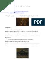 Webwandeling Vincent van Gogh