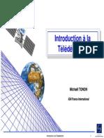 Introduction a La Teledetection - Tonon