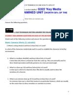 As Revision Sheet