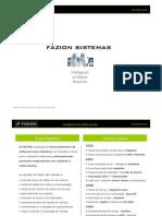 FAZION - Datasheet - Junho 2009