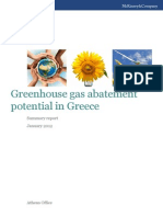 GHG Abatement Potential in Greece Summary Report