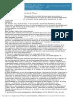 Boletín Oficial de la Provincia de Valencia