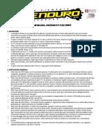 Regolamento 360Enduro 2014