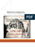 Smokin Crow Profile Ppt PDF