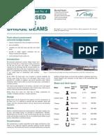 Prestressed Concrete Bridge Beams [CBDG]