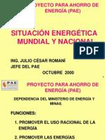 Situacion Energ. Mundial y de Peru
