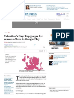 Valentine's Day_ Top 5 apps for season of love in Google Play - Financial Express