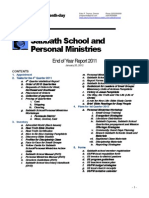 2012 End of Yearsabbath School and Personal Ministries Director