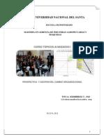 Prospectiva y Gestion Del Cambio Organizacional