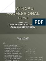 Curs 8 MathCAD