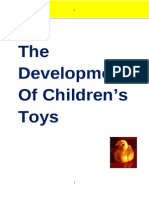 The Development Of Children's Toys