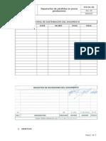 ITO-01-03 Reparacion de pérdidas en pozos productores Rev00