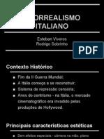 Slides - Neorrealismo Italiano