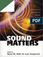 1 Sound Matters Small