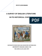 Survey of English Literature Jan 2013