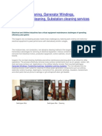 Switchgear Cleaning