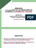 Charla ISO 17025 - Trazabilidad de las Mediciones - AV Versión 2