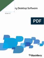 BlackBerry Desktop Software User Guide 1674986 0530104832 001 6.1 US