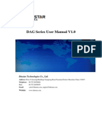 DAG Series User Manual V1.0