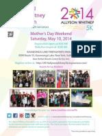 2014 AWF5k Flyer