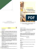 Profissão de Fé e 1ª Comunhão 2013