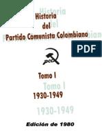 medina,medofilo.historia del partido comunista de colombia.tomo1.1980 bogota - コピー