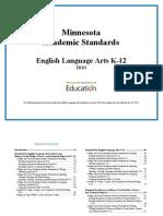 mca language arts standards
