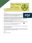CNHSS Newsletter 37 February 2014