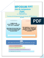 """The Process of Curriculum Development for TVET in Rwanda- Paper presented in the Actes du symposium Kigali, Serena Hotel 6-9 d'ecember 2010, """"Processus de d'eveloppement des curricula pour L'EFTP au Rwanda (Summary on pp., 38-39 of the proceedings)."""