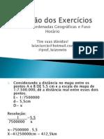 Exercício de escalas