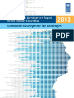 National Human Development Report 2013 for the Russian Federation