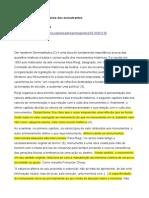 Resenha RIEGL, Alois. O Culto Moderno Dos Monumentos.