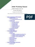 Subtitle Workshop Manual