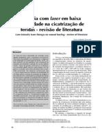 revisão de artigos laser