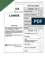 Daewoo Lanos Service Manual Full Eng