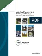 Materials Management Case Studies