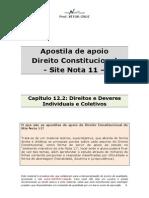 Apostila de Apoio-cap 12 2-Direitos e Deveres Individuais e Coletivos