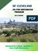 Gardening For Greenbacks 2013 Report