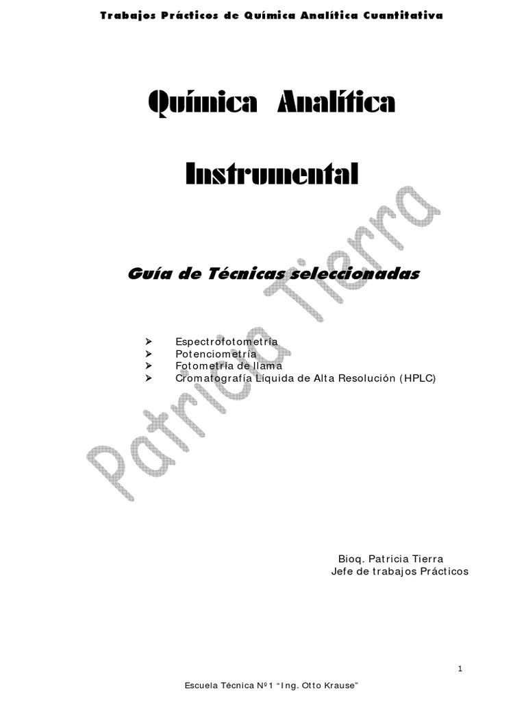 Guia de Analitica Instrumental