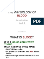 Blood Physiology Lec1