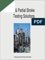 SIL & Partial Stroke Testing Solutionstation
