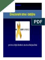 Emocionalni Stres i Debljina