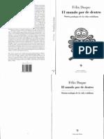 68375392 Felix Duque El Mundo Por de Dentro Ontotecnologia de La Vida Cotidiana 1995