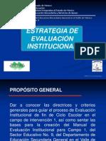 Evaluacic3b3n Institucional 2012 Profr Occ3a1diz