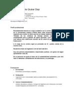CV Fabiola Del Valle Gruber Diaz