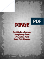 39760301 DIRGE Dark Modern Fantasy Roleplaying Game