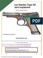 Japanese Nambu Type 94 Pistol Explained